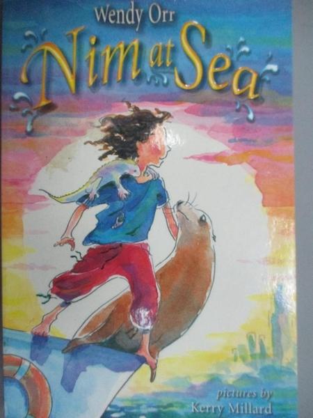 【書寶二手書T5/原文小說_CLT】Nim at Sea_Wendy Orr