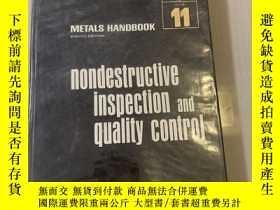 二手書博民逛書店Nondestructive罕見inspection and quality control (無損檢驗和質量控制