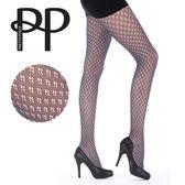 『摩達客』英國進口 Pretty Polly 網鑽型格紋彈性褲襪 (60113076002)
