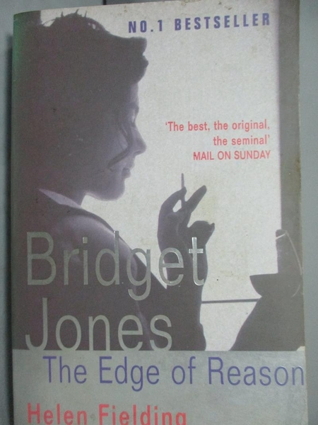 【書寶二手書T7/原文小說_JDT】Bridget Jone s:The edge of Reason_HELENFL