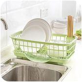 瀝水架 廚房放碗架瀝水架置物架塑料收納架餐具架子碗筷收納盒碗櫃·夏茉生活