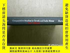 二手書博民逛書店Comparative罕見studies in Greek and Indic meter <Harvard st
