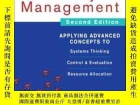 二手書博民逛書店Mastering罕見Project Management: A
