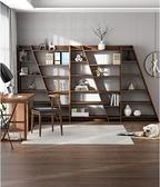 書櫃 創意書架書櫃落地現代簡約北歐組合書架置物架小戶型客廳書房 夢藝家