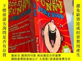 二手書博民逛書店the罕見horribly funny joke book 非常有趣的笑話書Y200392