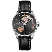 Hamilton 漢米爾頓 Jazzmaster 鏤空機械錶-36mm H32215730