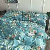 北歐精梳純棉床包被套組-加大-普蘭緹