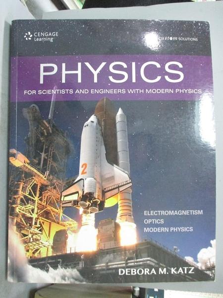 【書寶二手書T1/大學理工醫_QXK】Physics for Scientists...Volume 21/e_Debora