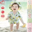寶寶紗布短袖和尚連體衣哈衣新生兒透氣夏季男女嬰兒薄款 一米陽光