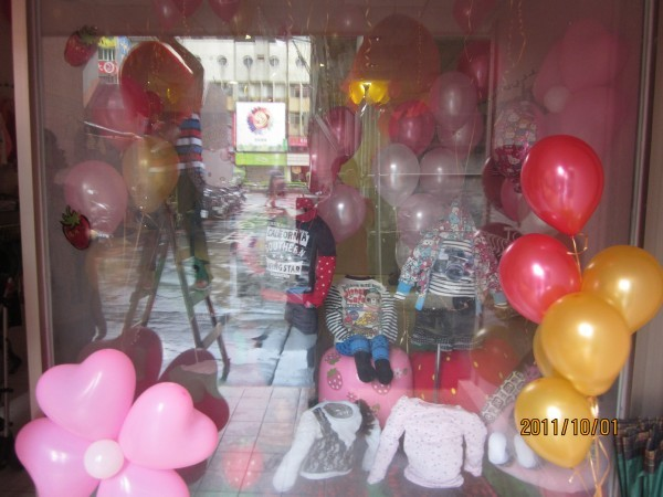 新北市永和花店-開幕活動/開幕賀禮/展場佈置/空飄氣球佈置專人現場佈置2000元