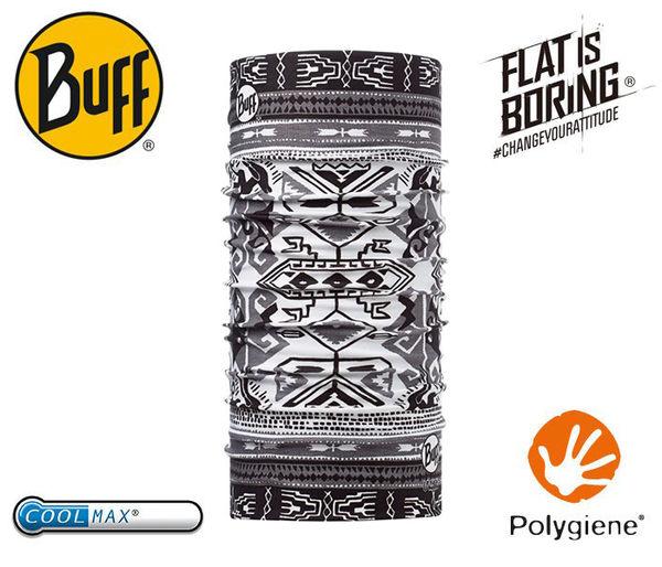 丹大戶外【BUFF】西班牙魔術頭巾 coolmax春夏款抗UV BF108578 對稱密碼