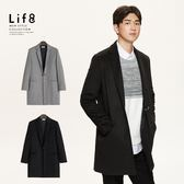 Formal 親膚羊毛 金屬釦大衣【11183】