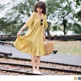《DA5607》臧芮軒。鏤空蕾絲雕花拼接魚尾裙擺洋裝 OrangeBear
