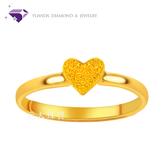 【元大珠寶】『閃耀甜心』黃金戒指 活動戒圍-純金9999國家標準
