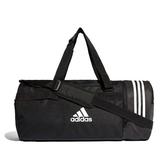 X-adidas CVRT 3S DUF M 健身 裝備 旅行 行李袋 手提 側背 黑 CG1533