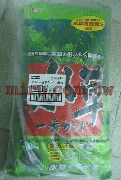 【西高地水族坊】日本五味GEX 黑土(粗粒)(活性底床)(8kg)(日本原裝進口)