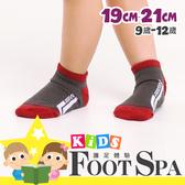 FootSpa童襪-足弓腳踝加強透氣運動襪-直條(9~12歲) MK-31726