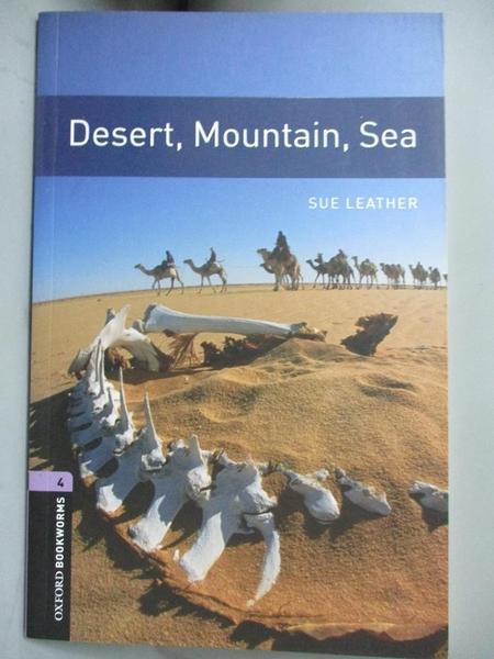 【書寶二手書T9/動植物_LGZ】Desert, Mountain, Sea_Leather, Sue
