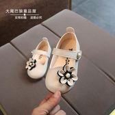 0-1-2-3歲小女孩鞋單鞋春秋季 一周歲半女寶寶軟底公主皮鞋女童鞋 桃園百貨