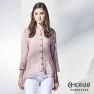 【ST.MALO】純呼吸100%亞麻襯衫-1754WS-藕粉色