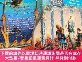 二手書博民逛書店The罕見Secrets of Droon #12: Under the Serpent Sea 多倫王國的秘密#