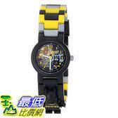 [104美國直購] 兒童手錶 LEGO Kids' 8020264 DC 蝙蝠俠 超級英雄 Universe Super Heroes Batman Plastic Watch