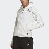 【12周年慶跨店折後$3280】adidas Z.N.E. HOODIE 女裝 外套 連帽 寬版 拉鍊口袋 運動 休閒 黑白 舒適 GM3281