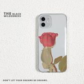 全型號 蘋果手機殼 三星手機殼 iPhone12Pro 11 Max Mini Xr X Xs 7 8 plus 油畫玫瑰