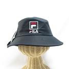 FILA 寬帽簷 漁夫帽 運動帽 HTV1203BK 黑色【iSport代購】