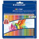 施德樓 MS127NC24 快樂學園 三角舒寫油性色鉛筆 24色