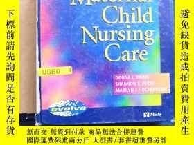 二手書博民逛書店Maternal罕見Child Nursing CareY223356 DONNA L.WONG