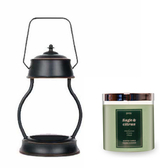 (組)EPOCHSIA x Pray 守夜人金屬香氛蠟燭暖燈(L)-復古銅+柑橘