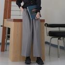休閒長褲-純色直筒百搭氣質女闊腿褲73xh5【巴黎精品】