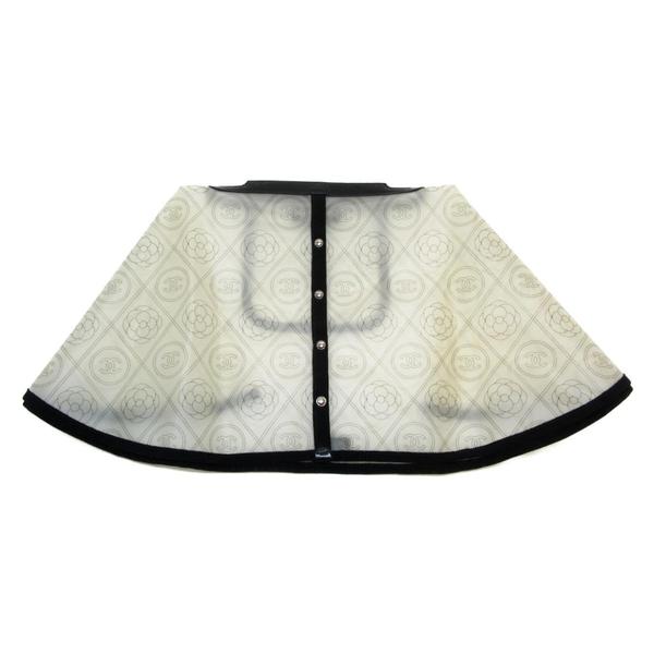 CHANEL 香奈兒 滿版透明 PVC包包雨衣 Handbag Raincoat【二手名牌BRAND OFF】