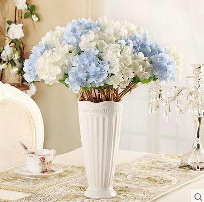 F0695 迷你仿真花 迷你小繡球花 家居裝飾餐廳桌面擺設花假花插花1小束如圖=一支