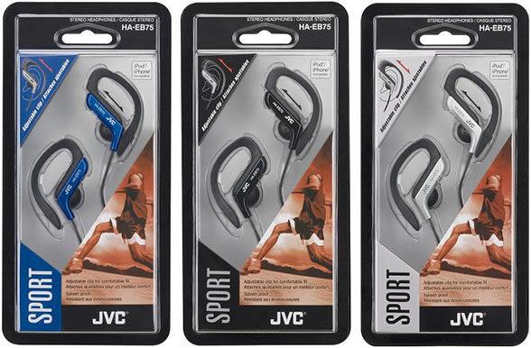 JVC HA-EB75 運動型防水耳掛式耳機 ,公司貨