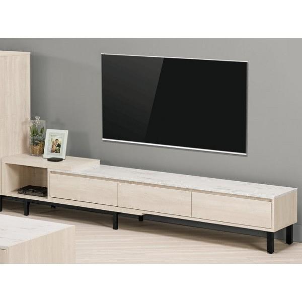 電視櫃 MK-811-2 丹妮拉6尺伸縮長櫃【大眾家居舘】