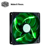 【Cooler Master 酷碼】SickleFlow X (Green LED) 12公分 9葉鐮刀扇 綠光款
