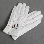高爾夫女手套 FINGERTEN女士手套 防滑透氣耐磨女款手套雙手   初見居家