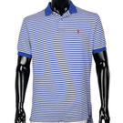POLO RALPH LAUREN經典橫條紋POLO衫(深藍白色)780350-8