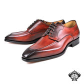 【Orobianco】經典U-tip德比紳士鞋 咖啡(FLY07-BR)