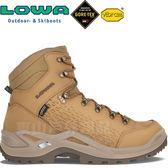 Lowa 310900-0464咖哩黃 男Gore-Tex中筒健行鞋 Renegade Mid GTX 黃金大底登山健行鞋