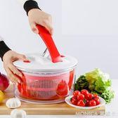 水果蔬菜甩干機沙拉甩干器手動洗菜機甩水瀝水甩菜器脫水籃