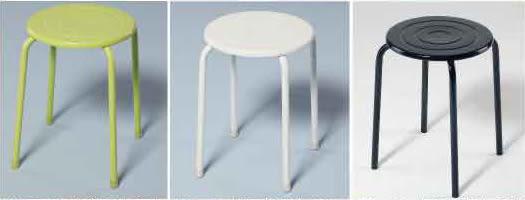 【南洋風休閒傢俱】烤漆面椅 休閒椅 餐椅 造型椅 (582-9)