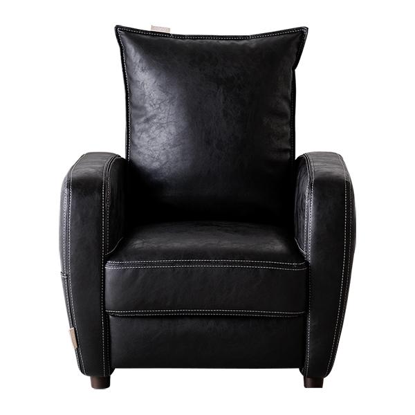 Lourdes皮質日式小沙發按摩椅(二色可選)1633