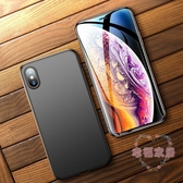 iPhone XS Max手機殼蘋果X超薄iPhoneXsMax硅膠軟殼iPhoneX磨砂黑8