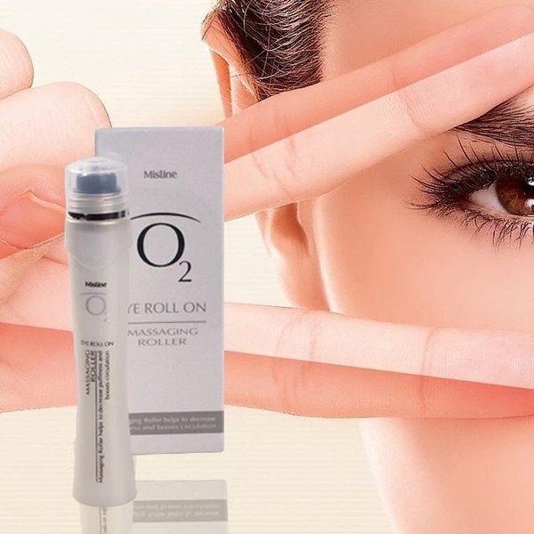 泰國Mistine O2滾珠眼霜 / 9ml 保溼補水緊緻 調理黑眼眼霜