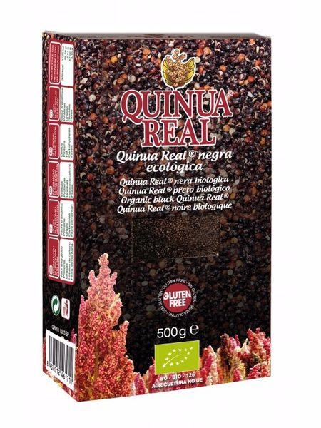 QUINUA REAL有機黑藜麥 (500g/盒) ~無麩質、低GI值