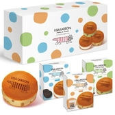LisaLarson銅鑼燒冰淇淋禮盒6入/盒【愛買冷凍】