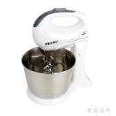 220V大功率臺式電動打蛋器家用烘焙蛋糕攪拌機和面機手持自動打奶油機 QQ29863『東京衣社』